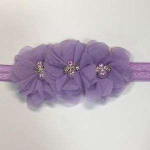 Other - Lavender Flower Headband